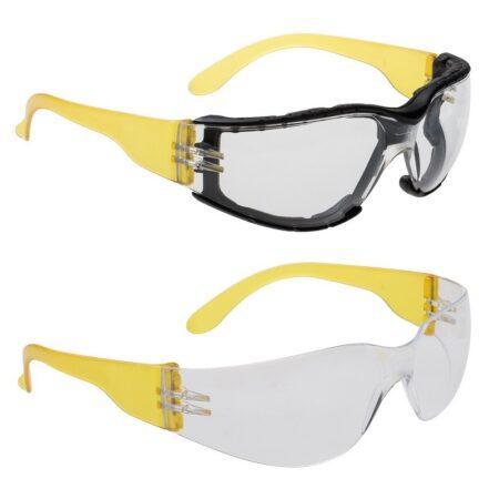 Száras munkavédelmi szemüvegek